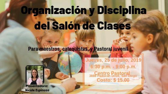 Organización  y Disciplina del Salón de Clases