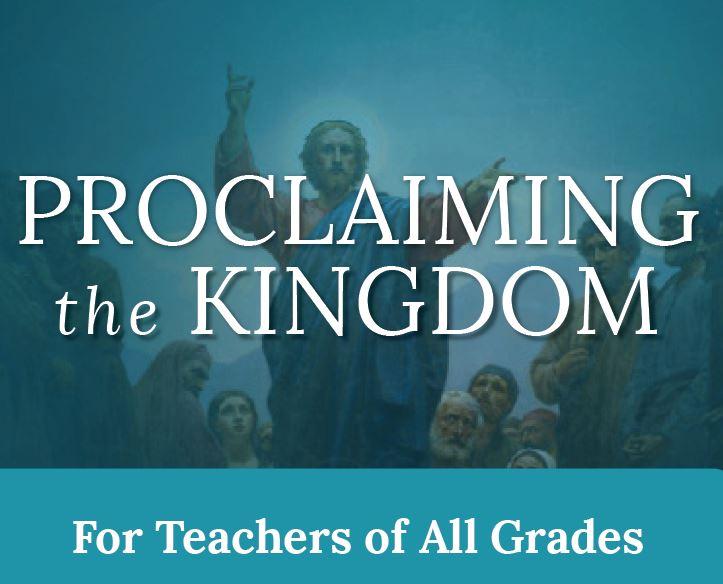 Sophia Institute Workshop: Proclaiming the Kingdom