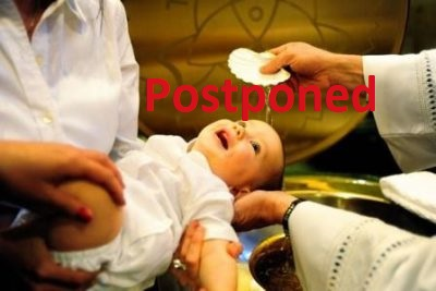 Infant Baptismal Certification Course POSTPONED
