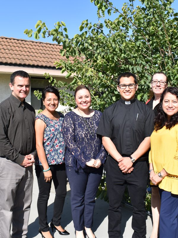 We Welcome Seminarian Matthew Vasquez