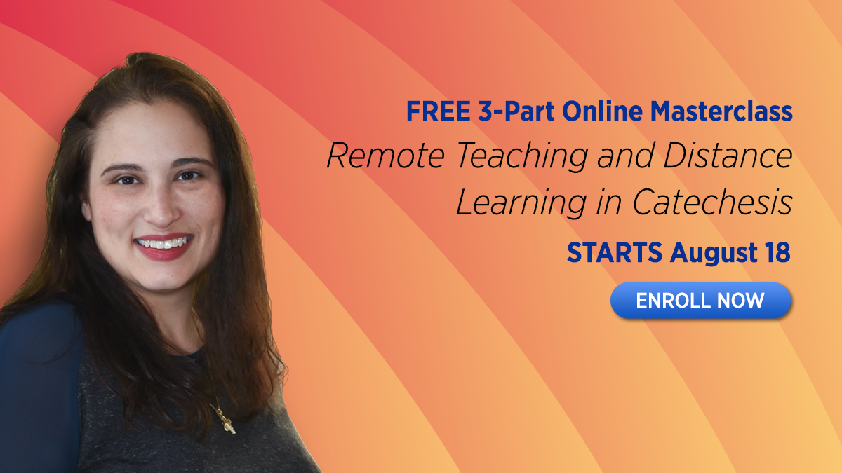 Join a Masterclass on remote teaching and distance learning in catechesis
