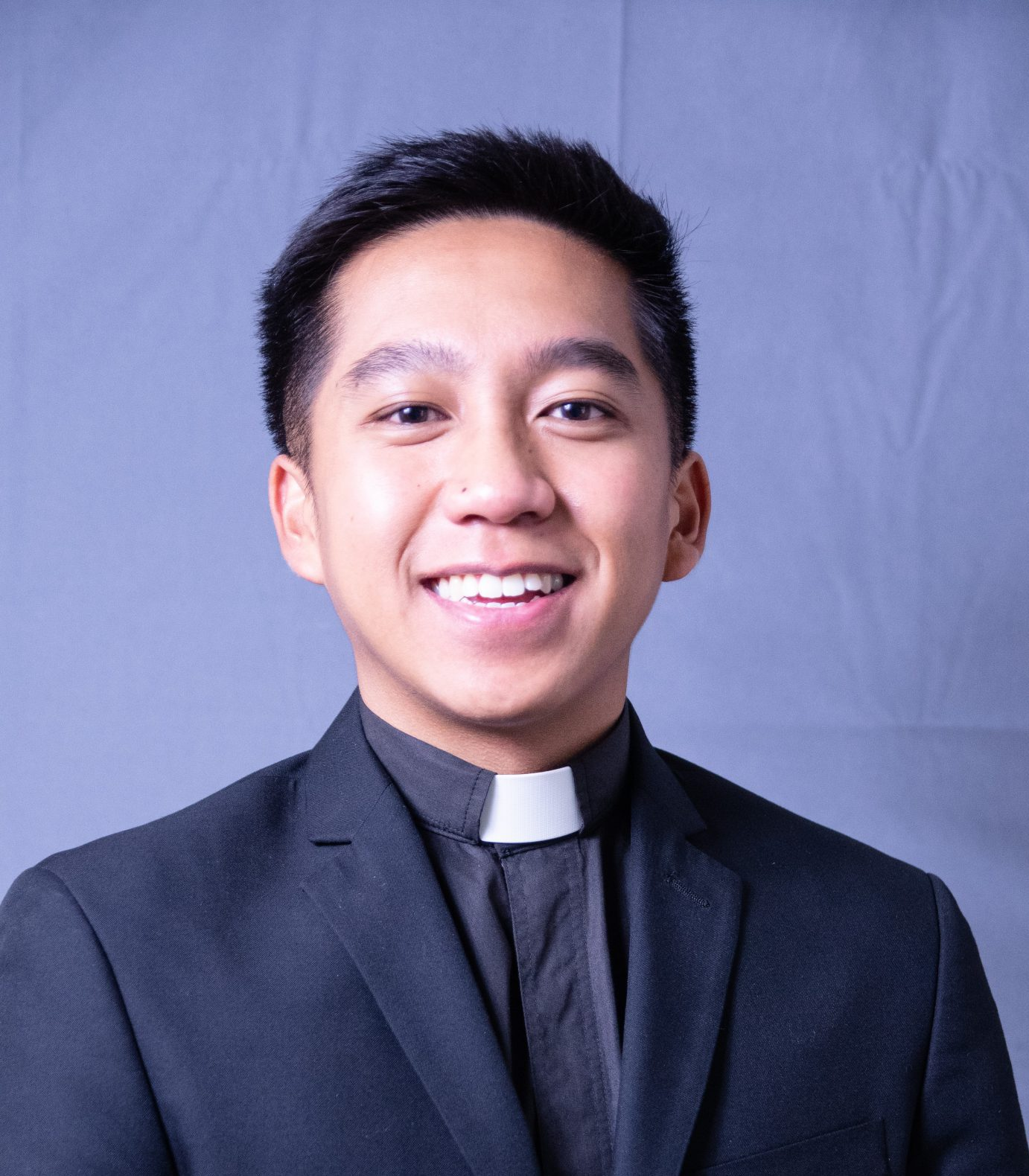 We welcome new seminarian intern…Jacob Ichbon!