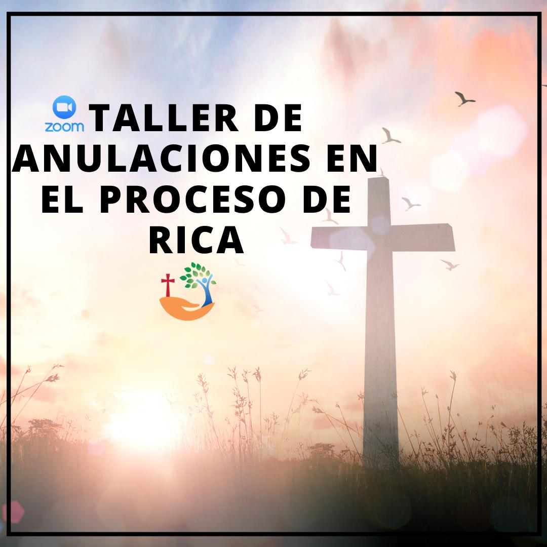 Taller de Anulaciones en el Proceso de RICA