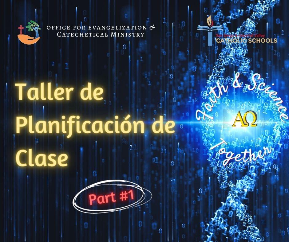 Fe y Ciencia-Taller de Planificación de Clase